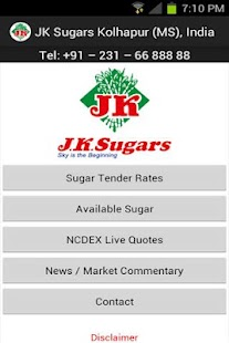 JK Sugars- screenshot thumbnail