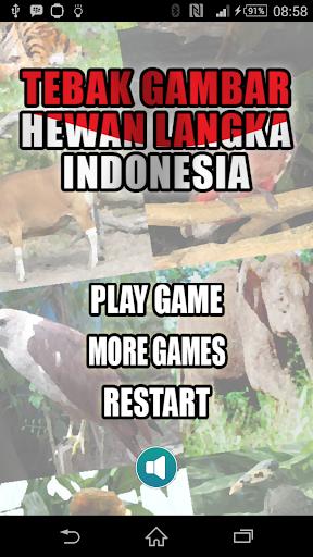 Tebak Hewan Langka Indonesia