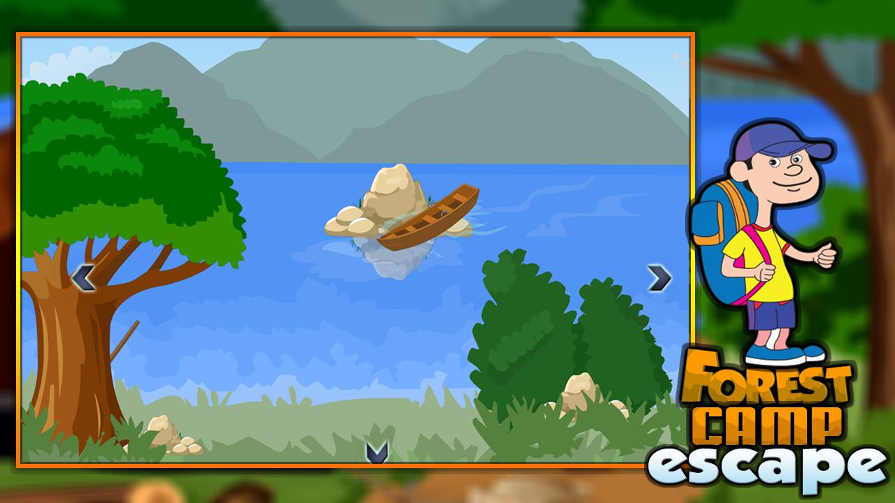 Forest Camp Escape - screenshot