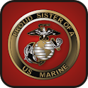 Proud Sister of Marine doo-dad logo