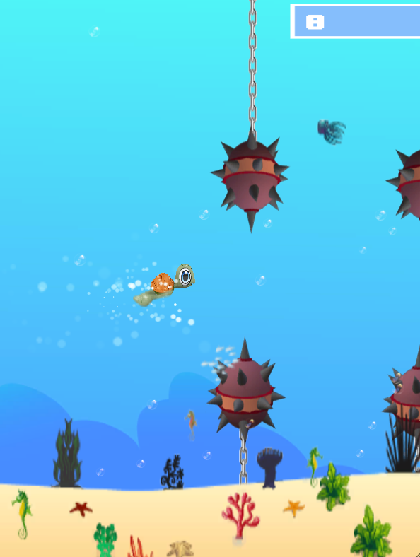 Flappy Turtle - screenshot