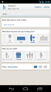 Hoppit: Restaurants by Mood - screenshot thumbnail