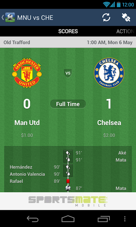 Premier League Live 2013/2014 - screenshot