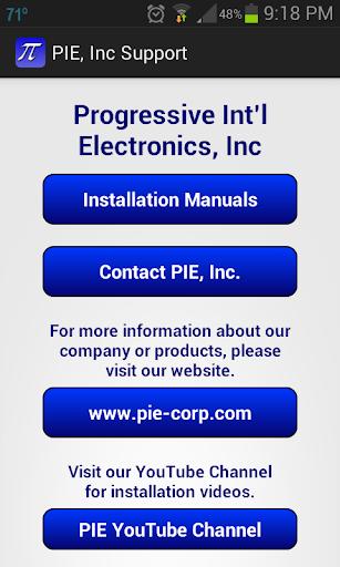 PIE Inc Support