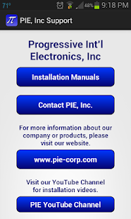 PIE, Inc Support- screenshot thumbnail