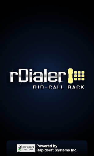 rDialer DID Call Back Dialer