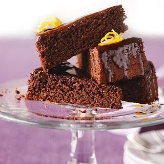 Orange-Infused Chocolate Almond Cake.