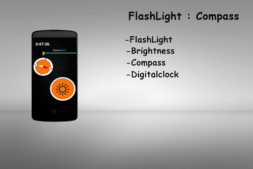 FlashLight : Compass