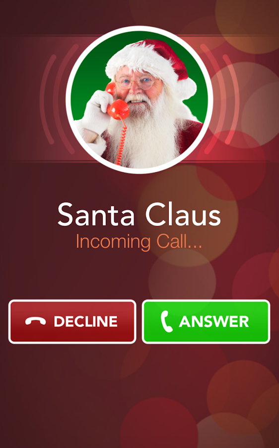 A Call From Santa Free Android Apps On Google Play