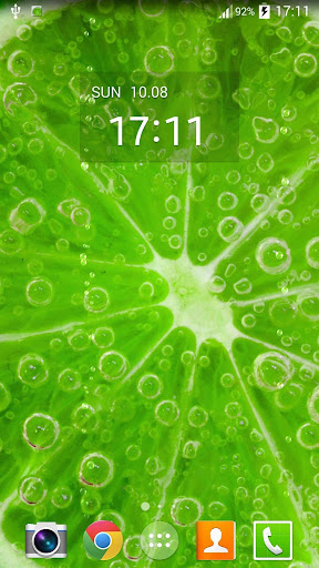 Lime Juice Live Wallpaper ☆