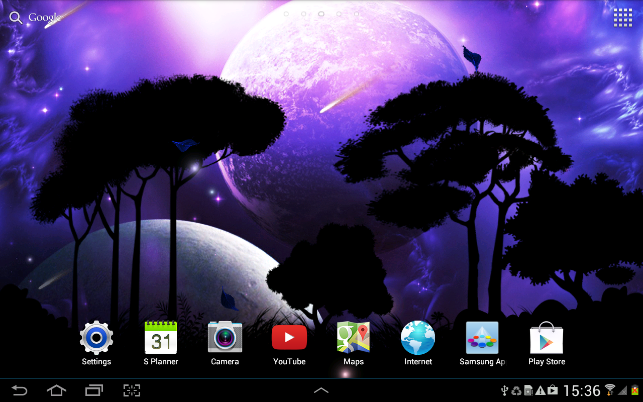 free live weather wallpaper app for android