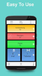 Tabata Timer for HIIT – Android-Apps auf Google Play