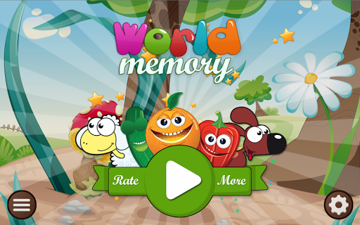 Kids World Memory