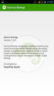 Kamus Biologi screenshot