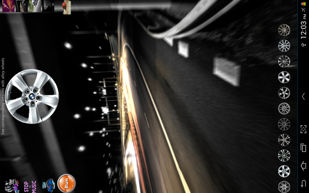Car Alloy Wheels - screenshot