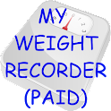 My Weight Recorder (PAID) icon