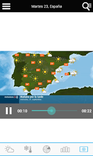 Weather for Spain - náhled