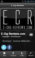 Screenshot of E-Cig-Reviews.com App