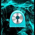 GO Locker Theme Blue Smoke icon