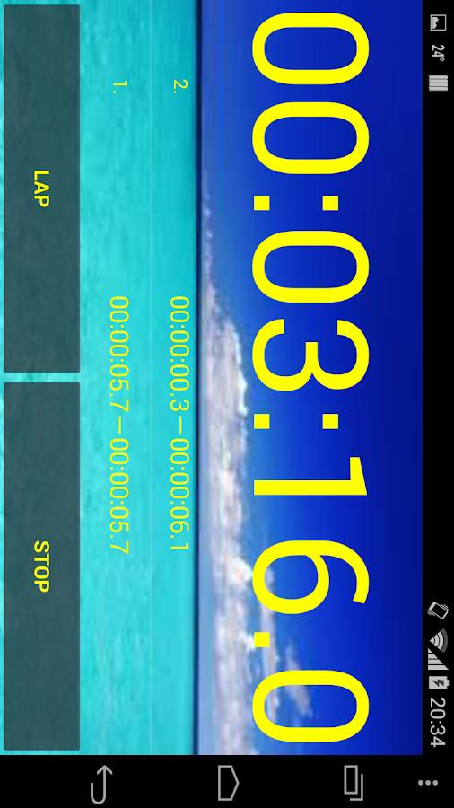 Chronom tre et minuteur applications android sur google play - Chronometre et minuteur ...