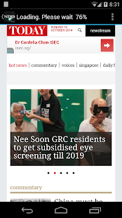 Singapore Live News Papers- screenshot thumbnail