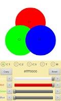 Screenshot of ColorSchemeDesignerFree