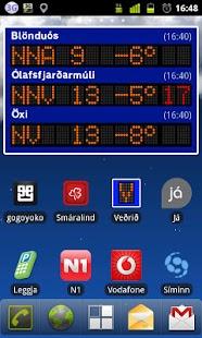 Veðrið- screenshot thumbnail