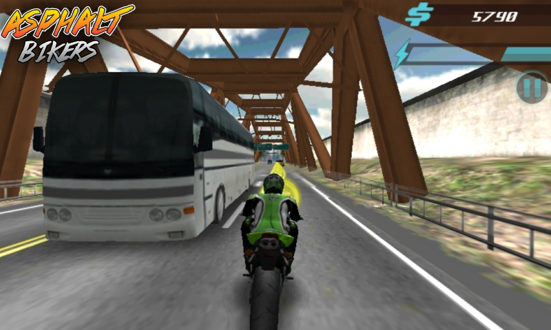 Asphalt Bikers FREE- screenshot