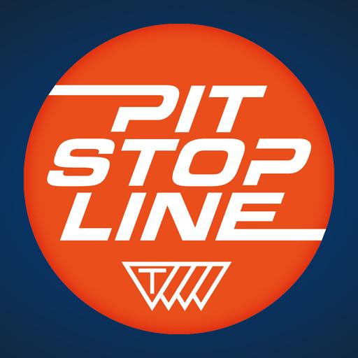 Pit Stop Line 賽車遊戲 LOGO-玩APPs