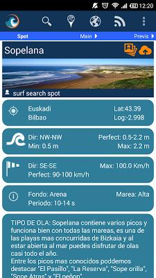 Surf Search Spot - screenshot