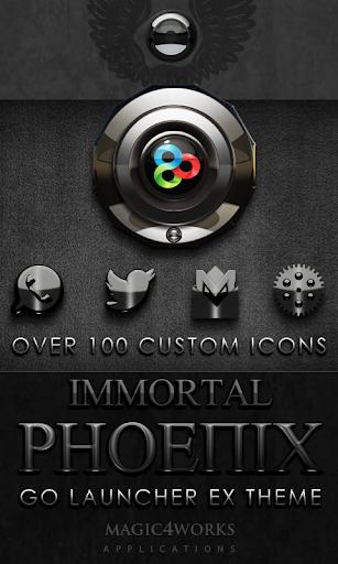 GO Launcher Theme Phoenix