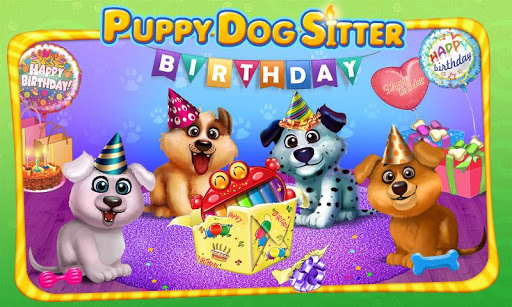 Puppy's Birthday Party