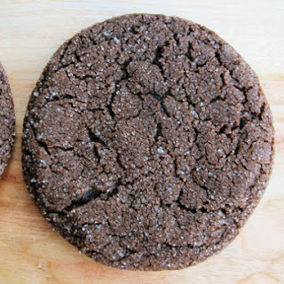 Soft Chocolate Molasses Cookies