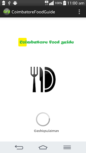 Coimbatore food guide
