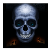 Laughing Skull Live Wallpaper