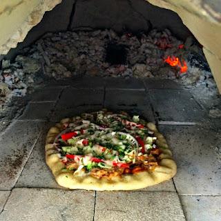 Chicken Barbacoa Pizza