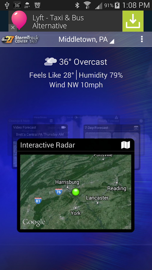 abc27 Weather - Harrisburg, PA - screenshot