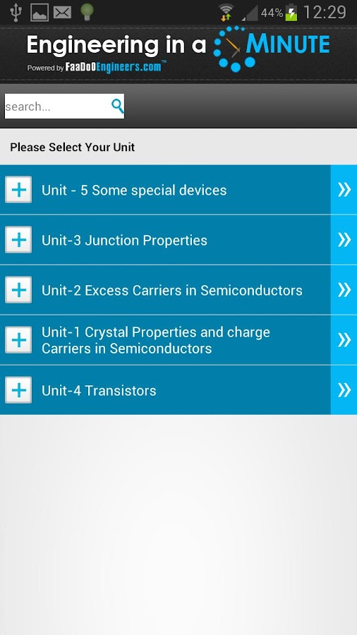 Basics of Electronic Devices - screenshot