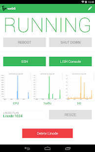 Linode Manager - screenshot thumbnail