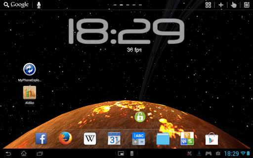 【免費個人化App】LWP 3D Fremde Planeten PRO-APP點子