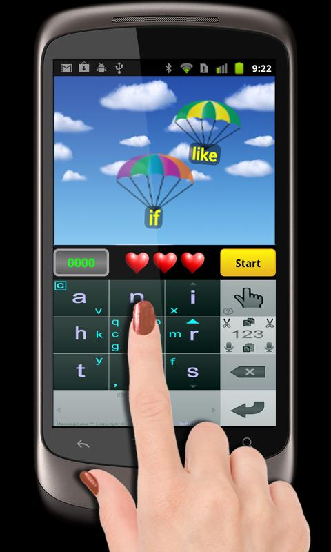 MessagEase Game- screenshot