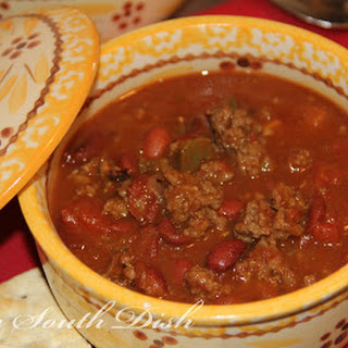 Homemade Beef Chili with Beans