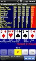 Screenshot of Video Poker - Double Bonus