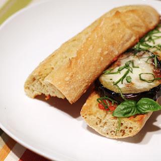 Eggplant Parmigiana Heroes