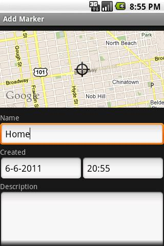 MapMe - screenshot