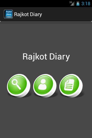 Rajkot Diary