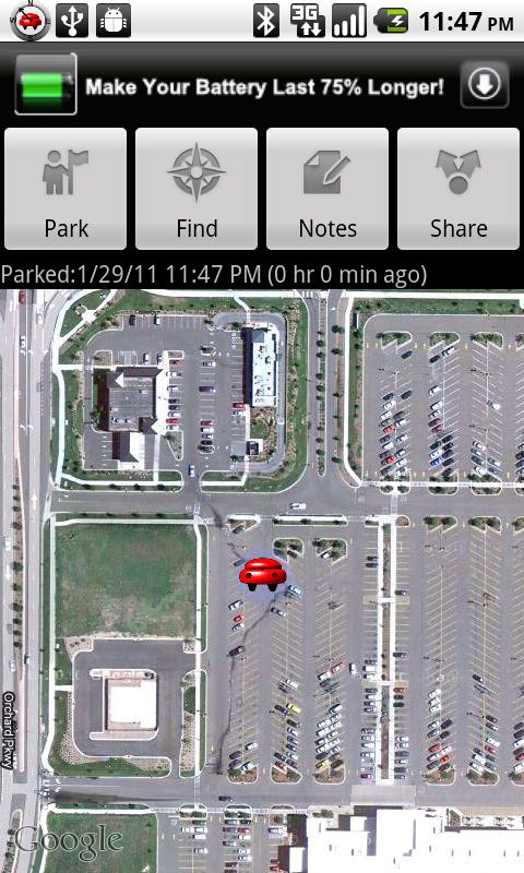 Car Compass - screenshot