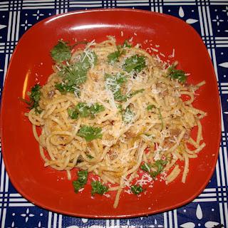 Kimchi Carbonara