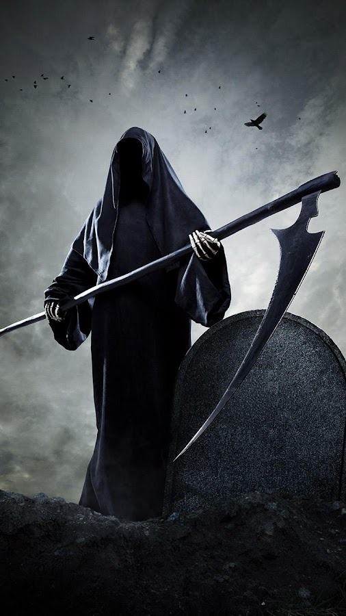... Grim Reaper Wallpapers apk screenshot ...