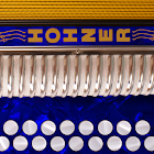 Hohner D/G Button Accordion icon